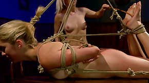 Girl Domination, BDSM, Blonde, Bondage, Bound, Dominatrix