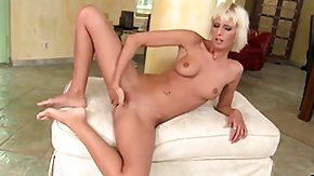 Blonde Dildo, Babe, Banana, Bath, Bathing, Bathroom