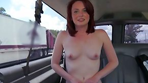 Pale Redhead, Amateur, Backseat, Blowbang, Blowjob, Boobs
