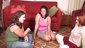 UK HD Sex Tube Wednesday Kimberly and London play Strip Spin the Bottle