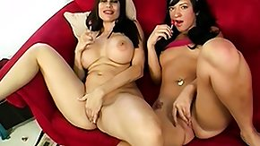 HD Mom And Teens tube Curvy teen and her mom bang the same lucky dude on the couch