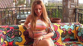 Melanie Gold, Audition, Blonde, Casting, Dress, Interview