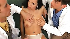 Double Penetration, Babe, Banging, Blowbang, Blowjob, Doctor