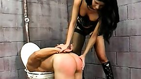 Jail, Angry, Ass, Babe, BDSM, Brunette