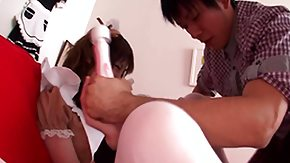 HD Tsubasa Amami tube Tsubasa Amami sexually bizzare Asian female house servant and her sex toys