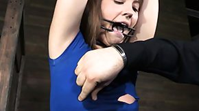 Whipping, Babe, BDSM, Bound, Brunette, Fetish