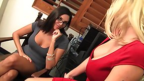 Free Alana Evans HD porn Crazy Hot Office Fuck With Two Breasty Lesbians