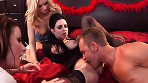 Emily Austin, Bisexual, Blonde, Blowjob, Brunette, CFNM
