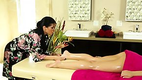 Masseuse, Babe, Brunette, Fetish, High Definition, Lesbian