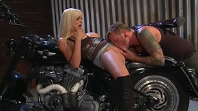 Biker, Ball Licking, Banging, Bed, Bend Over, Biker
