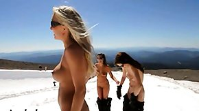 Snowboard, Babe, Big Tits, Boobs, High Definition, Huge