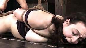 Hogtied, BDSM, Brunette, Fetish, Hardcore, High Definition