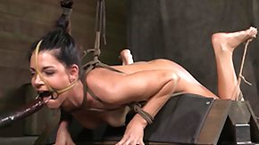 Basement, Basement, BDSM, Bound, Brunette, Hogtied