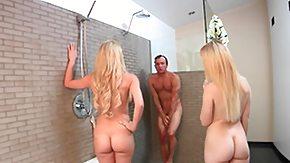 Mommy, Bath, Bathing, Bathroom, Blonde, Blowjob