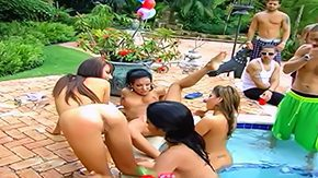 Brittny Blew HD porn tube Alexis Amore gets all hottest babes Britney Stevens Brittny Blew Maya Gates Nin drop by at pool party it ends with raging cunt licking while companions are