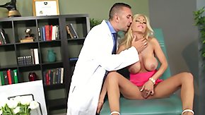Injection, Big Tits, Blonde, Doctor, Fake Tits, MILF