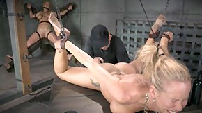 Penis, BDSM, Big Cock, Blonde, Bondage, Choking