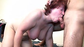Grandma, BBW, Big Cock, Big Tits, Blowjob, Boobs