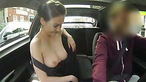 Fake Taxi, Big Tits, Blowjob, Boobs, Brunette, Car