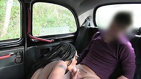 Taxi, Black, Black Teen, Blowjob, Car, Ebony