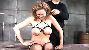 Rain Degre, BDSM, Bed, Big Tits, Bondage, Boobs