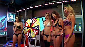 Free Bikini HD porn spin the wheel on the morning show @ season 1 ep. 546