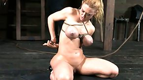 Slave, BDSM, Big Tits, Blonde, Blowjob, Boobs