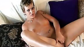 Strokahontas, Beauty, Blonde, Masturbation, Rough, Short Hair