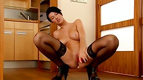 HD Emylia Argent tube Emylia Argent strips down to her