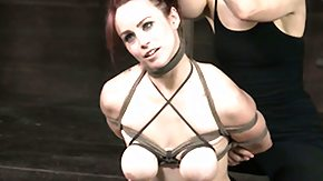 Torture, BDSM, Big Tits, Boobs, Brunette, Caning