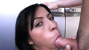 Columbian, Ass, Big Ass, Blowjob, Brunette, Car