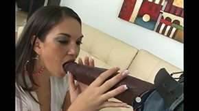 Chick High Definition sex Movies Dark-complexioned bottom has GIANT Pecker This chick is smaller than his manhood That babe try to swallow his hot rod but it is impossible willy superlatively good time on