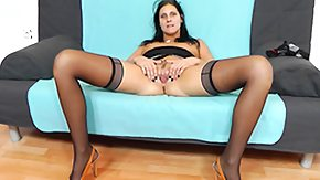 Ruby, Brunette, Cougar, Dildo, Fingering, Fucking
