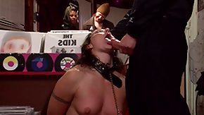 Public, BDSM, Blowjob, Humiliation, Public Flashing, Small Tits