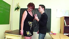 German Old and Young HD Sex Tube German Milf Counselor show infant boy how to get pregnant