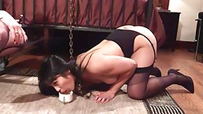 Leash, Asian, BDSM, Big Ass, Interracial, Sex