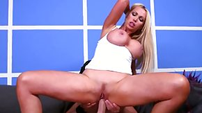 HD Hookers Sex Tube Nikki Benz is slinky blonde hooker with big titties who is wearing a beautiful white BDSM master and meets with this
