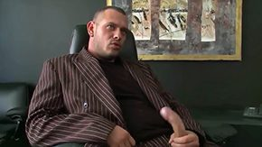 Free Krissy Style HD porn videos Boss Norby enjoys sitting within his office leather chair watching Krissy Brilliance flaunt her body within front of him before giving him killer
