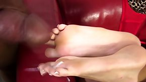 Interracial, Babe, Brunette, Feet, Fetish, Fucking