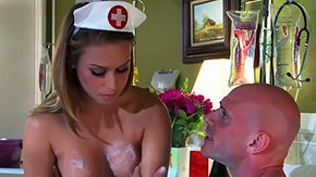 Nurse, Ball Licking, Banging, Big Cock, Big Tits, Blowjob