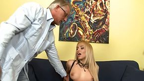 Uncle, Aged, Assfucking, Bed, Bend Over, Bimbo