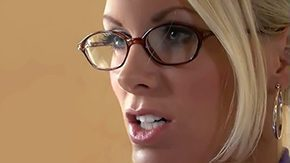 Free Stand HD porn Her work is stressful must relax blonde glasses mom clothed blowjob from behind upstanding position pussy's bestfriend passage home anal skinny