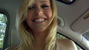 Blonde In Car, Amateur, Babe, Ball Licking, Bimbo, Blonde
