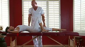 Free Massage Young HD porn videos Smooth-faced gent Johnny Sins knows as a result of sure how to seduce young women to fuck with him during nonpublic massage now fellow is going to massage creature of Jenni Lee bang