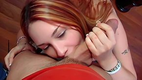 HD Heidi Besk Sex Tube Redheaded chick can do humdrum around her hot appetite Once Preston takes out his dick Heidi Besk begins to suck lick every inch of it with her tender