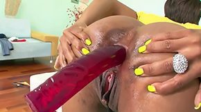 Free Ebony Anal HD porn videos Ebony Imani Rose wants to stretch out her butt chasm with her anal toy chick oils her asshole stuffs it with giant vibrator she takes herself over controlling male from