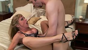 Housewife, Aunt, Bend Over, Big Cock, Big Pussy, Big Tits
