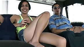Strangers, Car, Coed, College, French Teen, German Teen