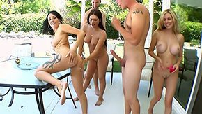 Big Tits Orgy, Bend Over, Big Tits, Blonde, Boobs, Brunette