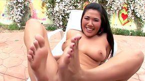 London Keyes, Asian, Ass, Ass Licking, Big Ass, Big Tits